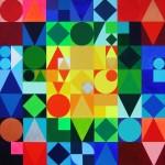 Byzanz | 2009 | Acryl | 80x80 cm