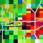 Metamorphose Garten Eden ost 3 | 2008 | Acryl | 80x50 cm
