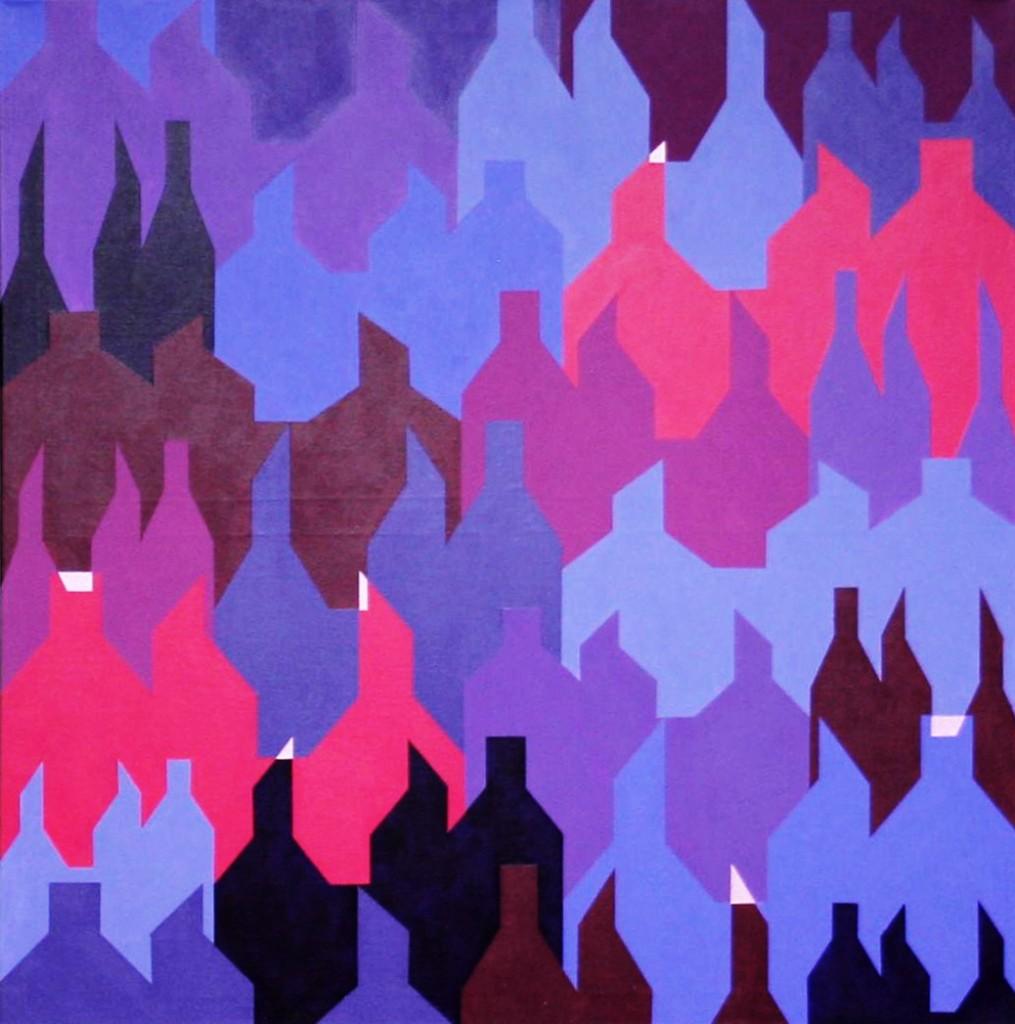 Klimawandel (2 von 3)  |  2012  |  Acryl  |  80x80 cm