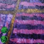 Lavendelblüte | 2011 | Acryl | 50x70 cm