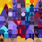 Marrakesch 3 | 2011 | Acryl | 150x70 cm | 3 x 50x70 cm