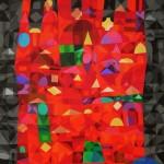 Marrakesch V | 2013 | Acryl | 80x120 cm