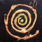 Der Anfang |2011 | Acryl und Dispersion | 30x30 cm