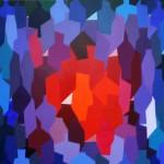 Blase | 2012 | Acryl | 100x100 cm