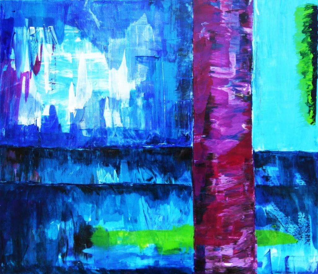 Blaue Grotte     2011     Acryl    60x80 cm