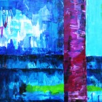 Blaue Grotte | 2011 | Acryl | 60x80 cm