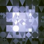 Byzanz | 2013 | Acryl (Grau- und Silbereffekte) | 80x80 cm