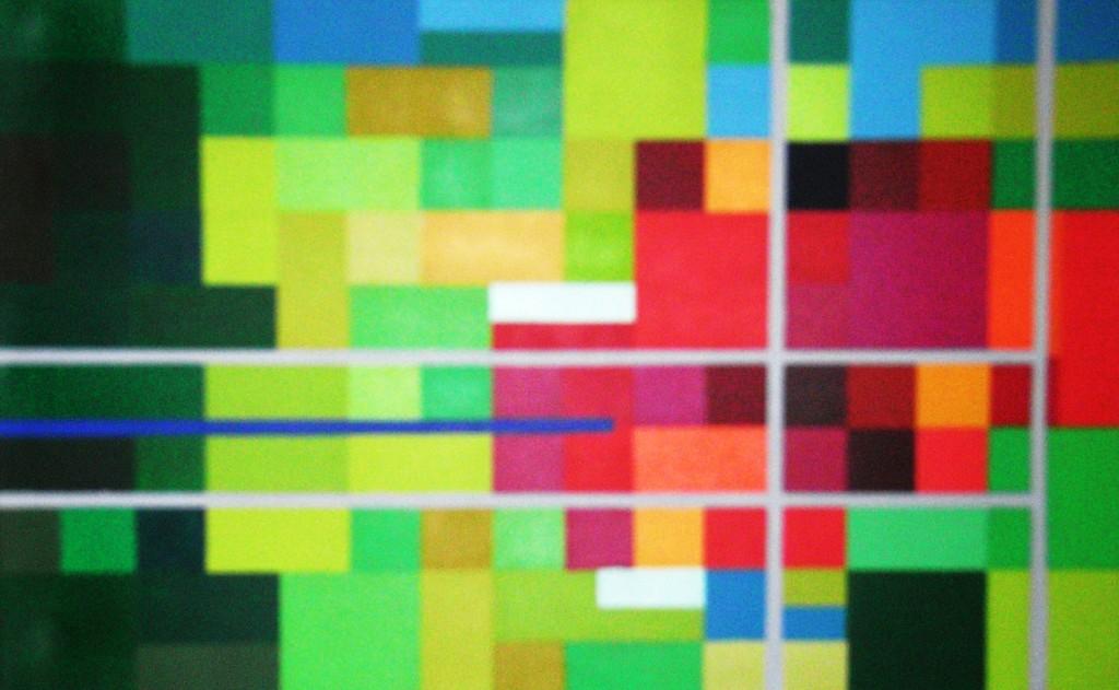 Metamorphose Garten Eden ost 2 |  2008  |  Acryl  |  80x50 cm