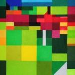 Metamorphose Garten Eden west 2 | 2008 | Acryl | 80x50 cm