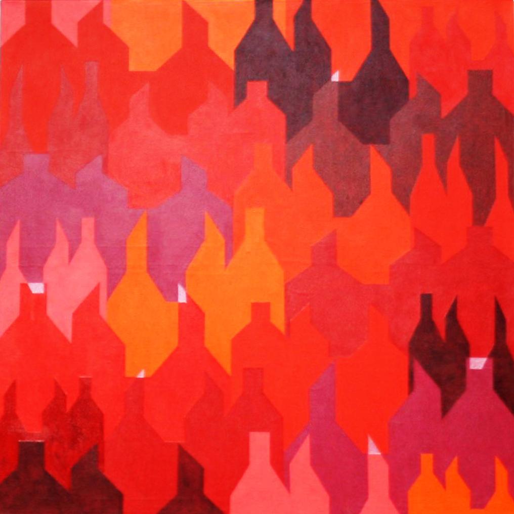Klimawandel (3 von 3)  |  2012  |  Acryl  |  80x80 cm
