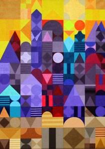 Marrakesch 3-2 | 2011 | Acryl | 50x70 cm