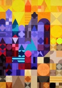 Marrakesch 3-3 | 2011 | Acryl | 50x70 cm