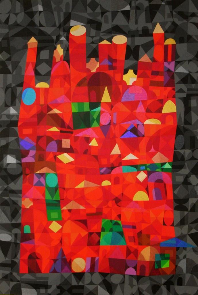 Marrakesch V   2013   Acryl   80x120 cm