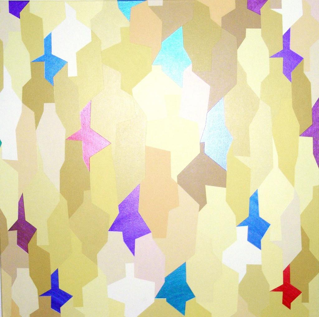 on the dance floor  |  2013  |  Acryl  |  100x100 cm