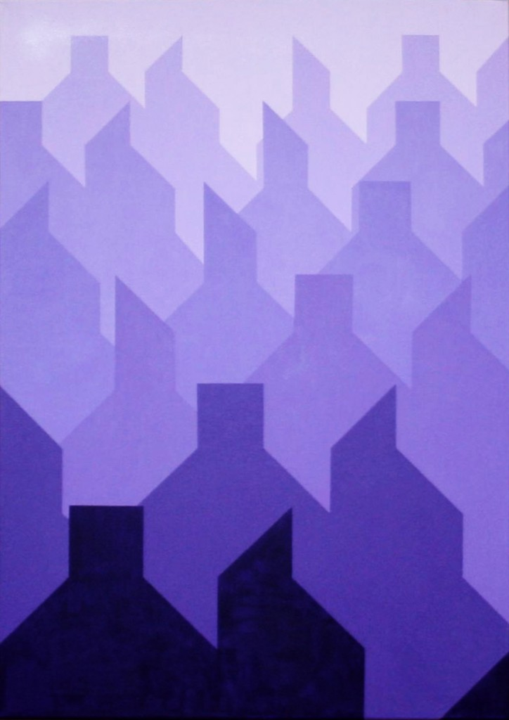 Trifels      2010     Acryl     70x100 cm