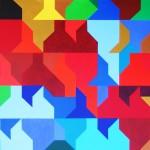 Waren (I) bei Sonnenschein | 2009 | Acryl | 100x70 cm